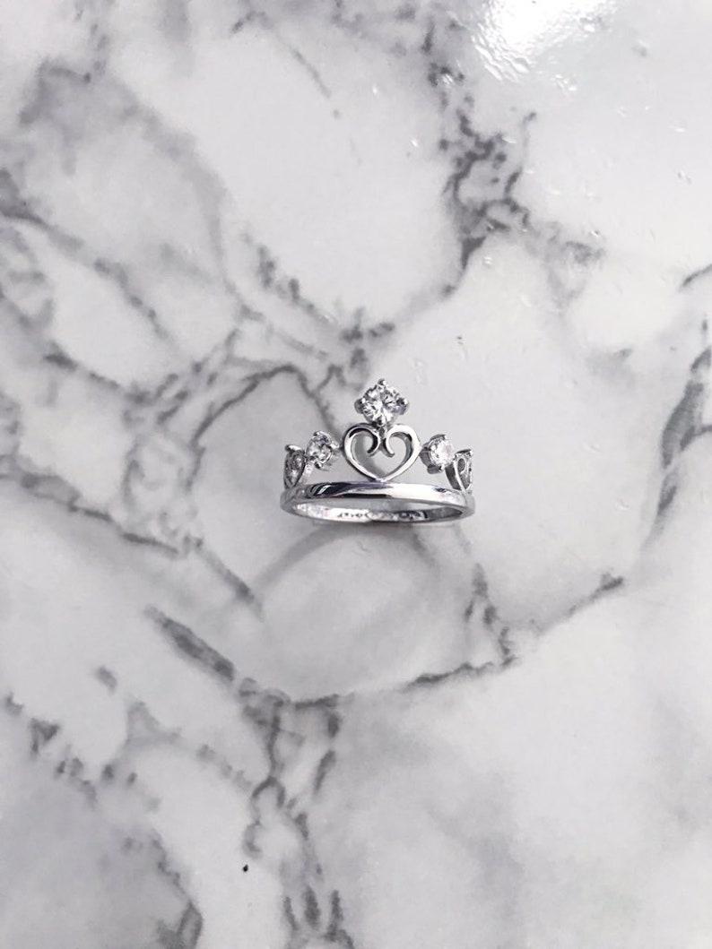 Tiara Sterling Silver Ring