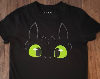 Kid//Youth Night Fury Light Fury T-Shirts 3D Long Sleeve Tees for Girls Boys