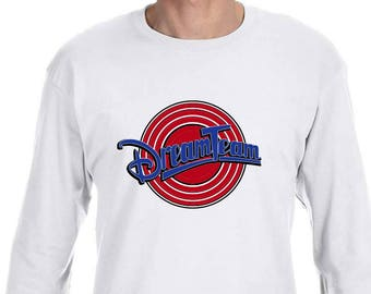 Dream Team Tune Squad high quality Long sleeve shirt