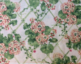 Fabric: MARTHA'S VINEYARD Watercolor by Susan Branch   3/4 Yard