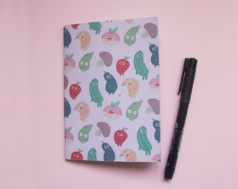 Fruity Notebook (A6) Recycled paper