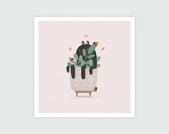 Plant Spirit (Square) Print