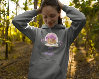 Guinea Pig Hoodie, Cavy Jumper, Guinea Pig Pullover, Guinea Pig Lover Sweatshirt, Smol But Mighty