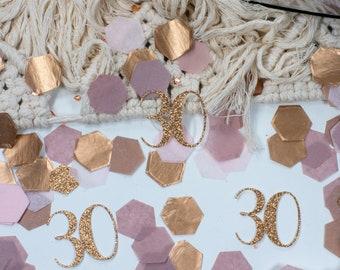30th Birthday Decorations, Boho Party Decor, 50th Birthday, Birthday Decorations For Women, Custom Confetti, Personalized Birthday