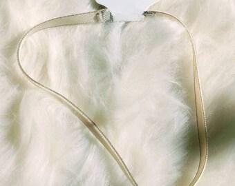 Choker - Choker necklace - Choker Velvet - Choker Cream - Choker Smooth Velvet