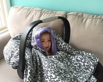 Car Seat Cover/ Children's Poncho