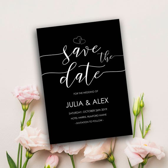 picture relating to Printable Save the Date Templates named Tasteful Conserve the day, Conserve the day templates, Uncomplicated Wedding ceremony Invitation, Tailor made, Do it yourself, Printable Help you save the day, Marriage Conserve the dates