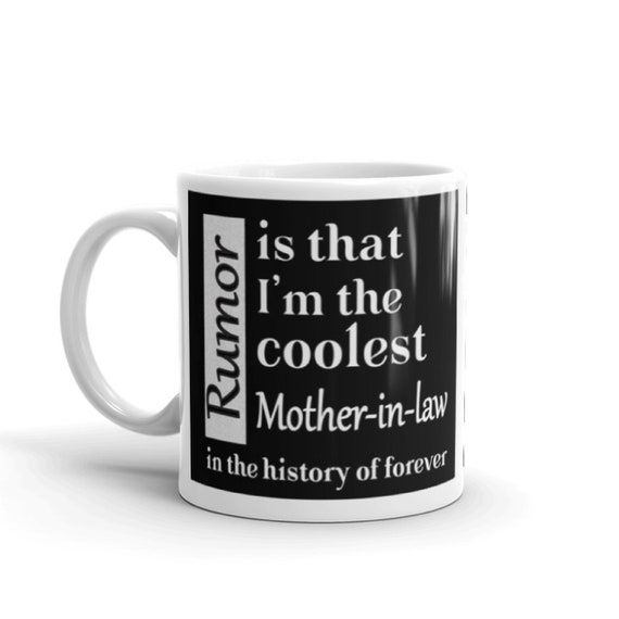 Gift For Mother In Law Mugs With Sayings Gifts Under 20 Etsy