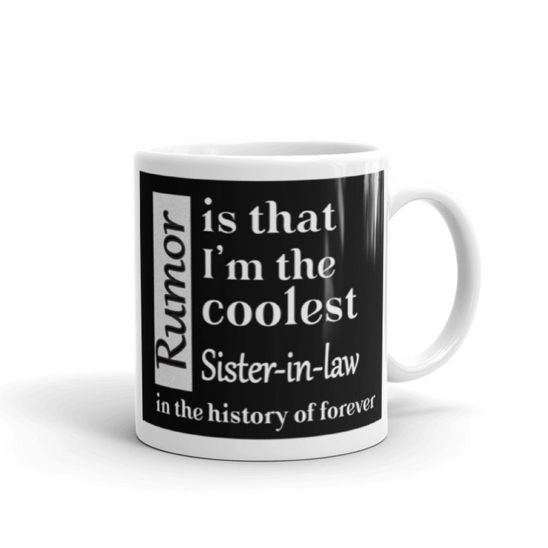 Gift For Sister In Law Mug Gifts Under 20 Christmas Birthday