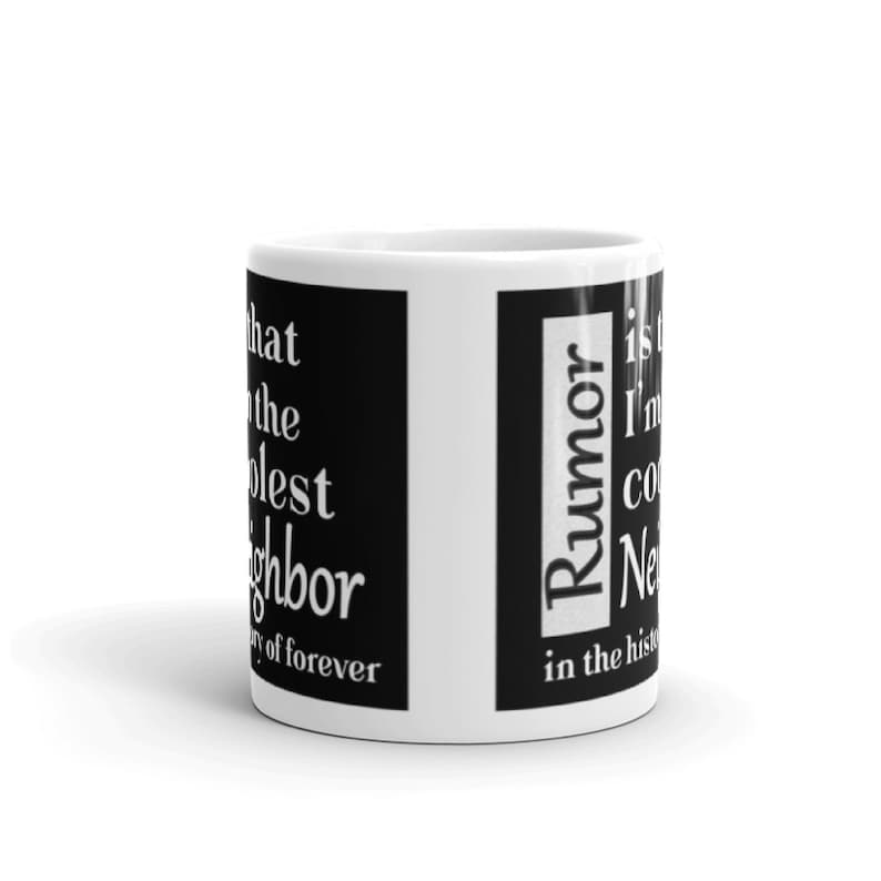 Gift For Neighbor Mugs With Sayings Best Birthday Exchange Appreciation Thank You