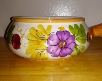 Vintage FTD Hand Painted Planter/Dish