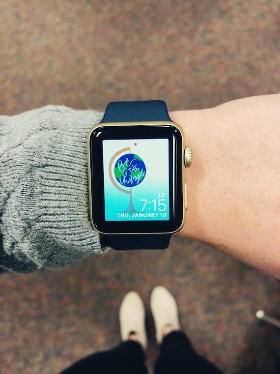 Apple Watch Wallpaper Be The Change