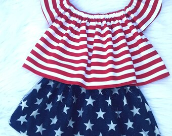 37aeba5bbd7 4th of July outfits girl