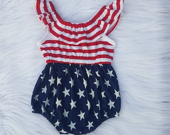 b8d628256069 4th of July romper girl