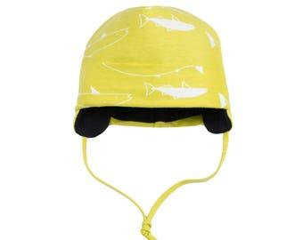 f635ee63276 Organic winter baby   kids unisex hat with straps