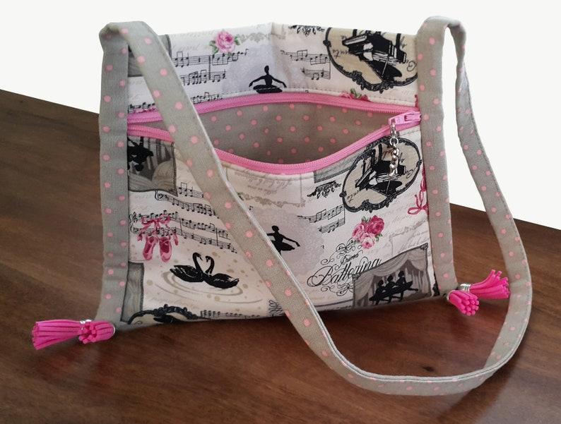 Girls bag pattern PDF bag pattern Easy bag pattern DIY image 4