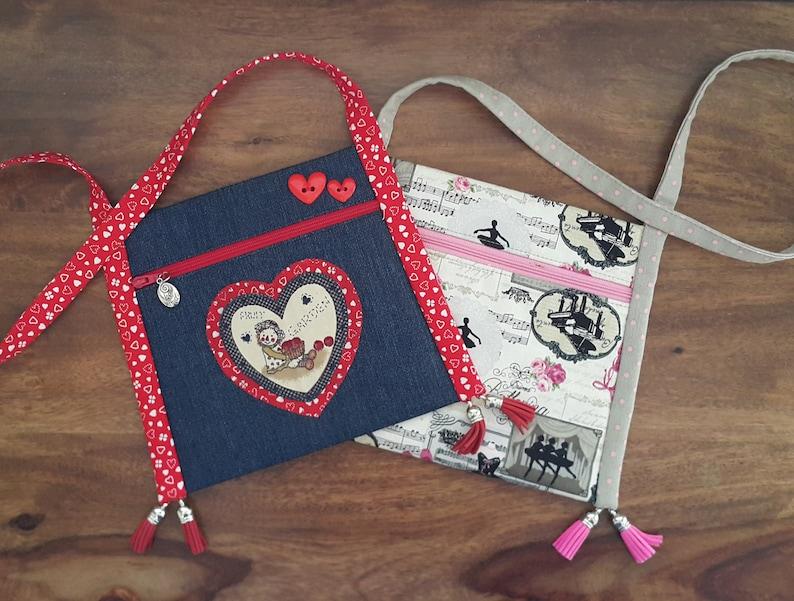 Girls bag pattern PDF bag pattern Easy bag pattern DIY image 9