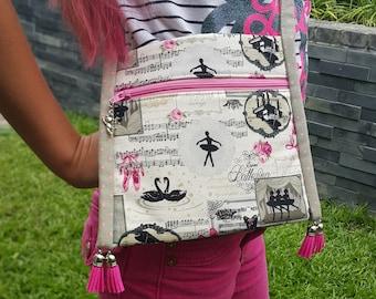 Girls bag pattern - PDF bag pattern - Easy bag pattern - DIY child handbag - Kids bag PDF sewing pattern - Children tote bag tutorial