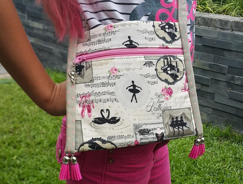 Girls bag pattern  PDF bag pattern  Easy bag pattern  DIY image 0