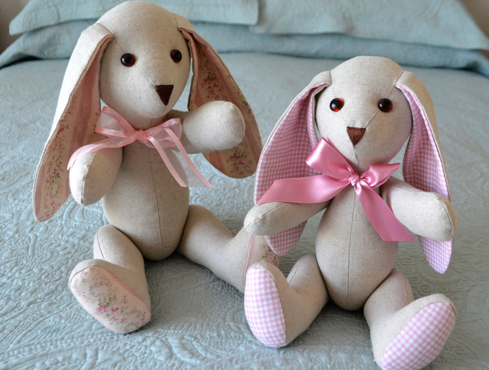 Stuffed Bunny Sewing Pattern