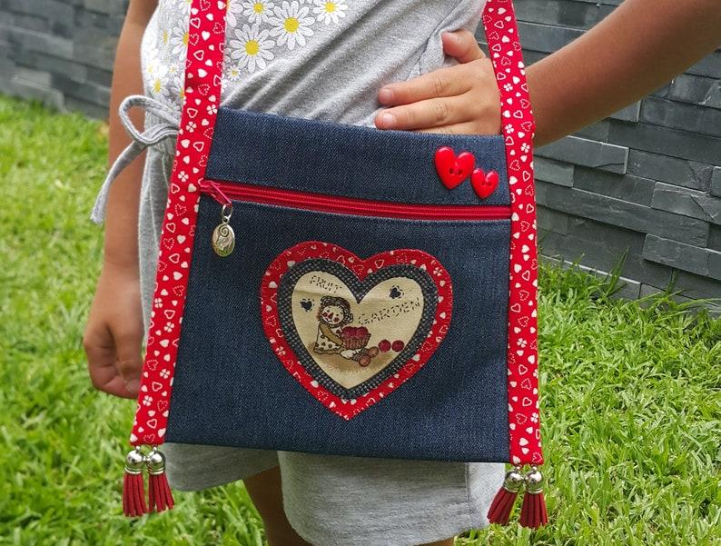 Girls bag pattern PDF bag pattern Easy bag pattern DIY image 3