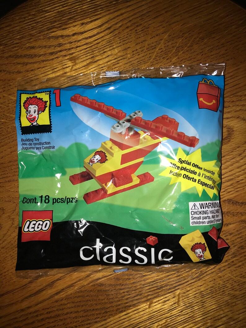 1999 McDonalds Legos Helicopter