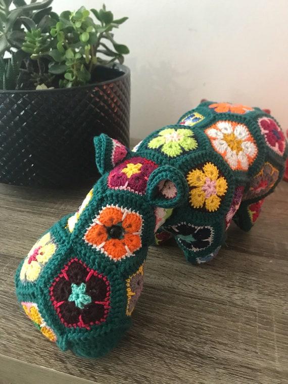 Niedlich Häkeln Afrikanische Blume Frei Muster Zeitgenössisch