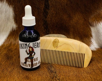 Viking Jerk's Valkyrie Hair & Beard Serum / Beard Oil / Lavender and Mint