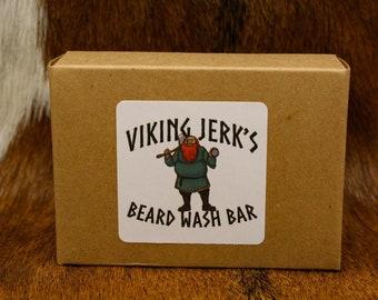 Viking Jerk's All Natural Beard Wash Bar/Shampoo Bar