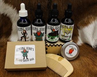 Viking Jerk's Beard Care Gift Set