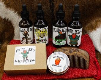 Viking Jerk's Complete Beard Care Valentine's Gift Set