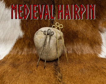 Medieval Hairpin - Recreated Historical Artifact - Replica
