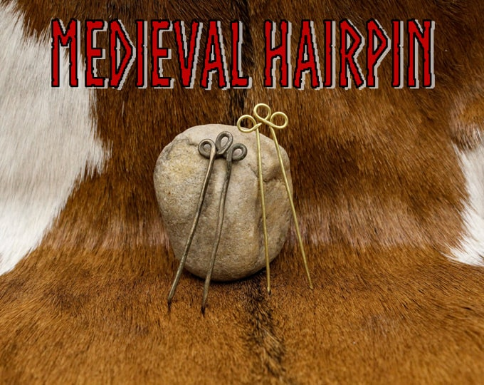 Featured listing image: Medieval Hairpin - Recreated Historical Artifact - Replica