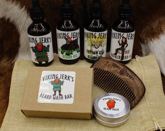 Viking Jerk's Complete Beard Care Father's Day Gift Set