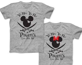 340b35c5 Pirate Mickey Shirts Disney Pirate Family Shirts Custom Disney Shirts  Disney Couples Shirts Men's, Women's, Kid's & Baby shirts