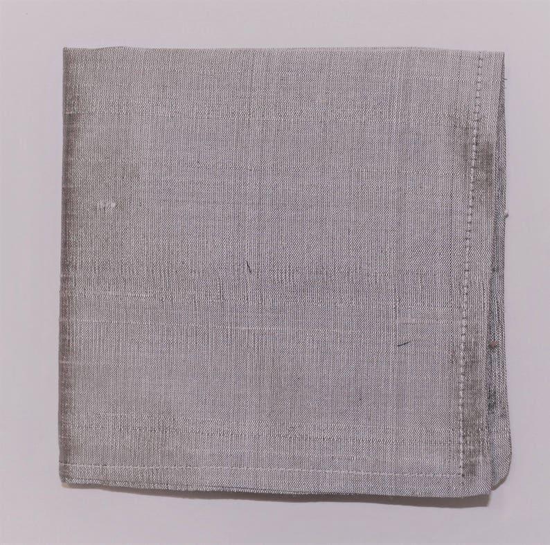 UK Made Hankie Pocket Square handkerchief 100/% SILK DUPION ROSE PINK