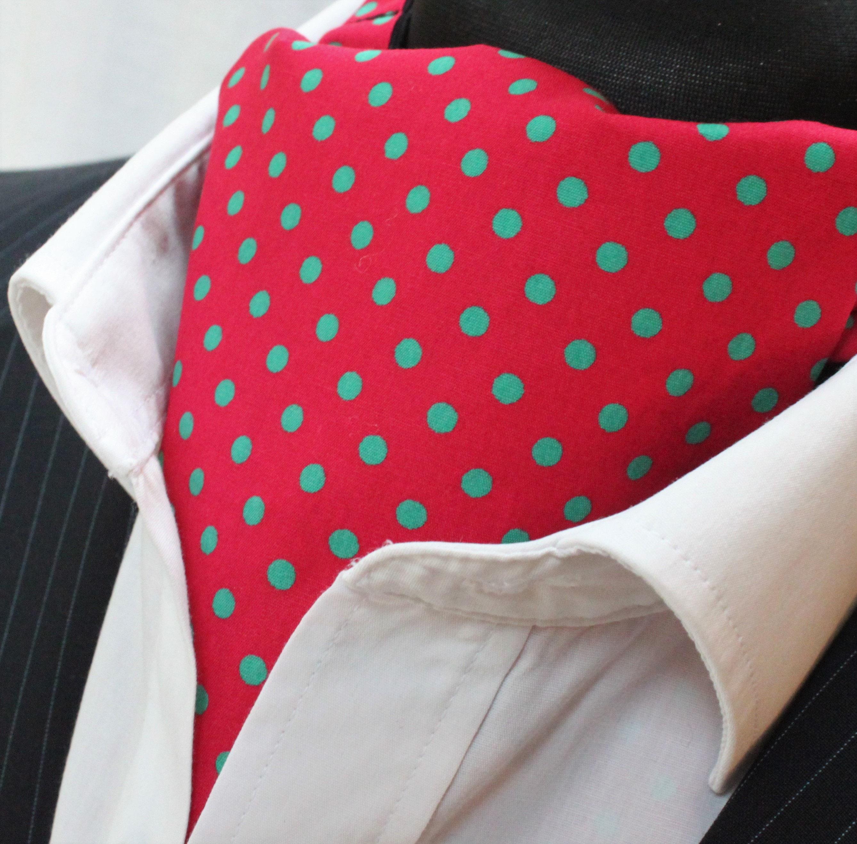 UK Made Hankie Pocket Square handkerchief Red Premium Cotton Blue Paisley
