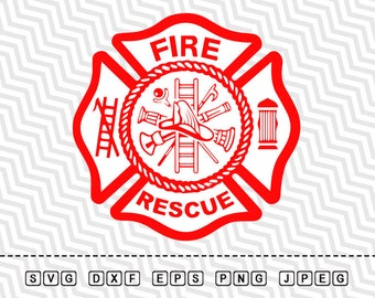 fire rescue etsy