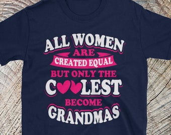 Coolest Grandmas   Grandma Gift   Grandma Shirt   Grandma T Shirt   Granda Christmas Gift   Grandma Clothes   Blessed Grandma   Grandma