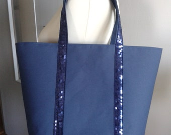 Ready to dispatch - medium Tote style Vanessa Bruno - blue