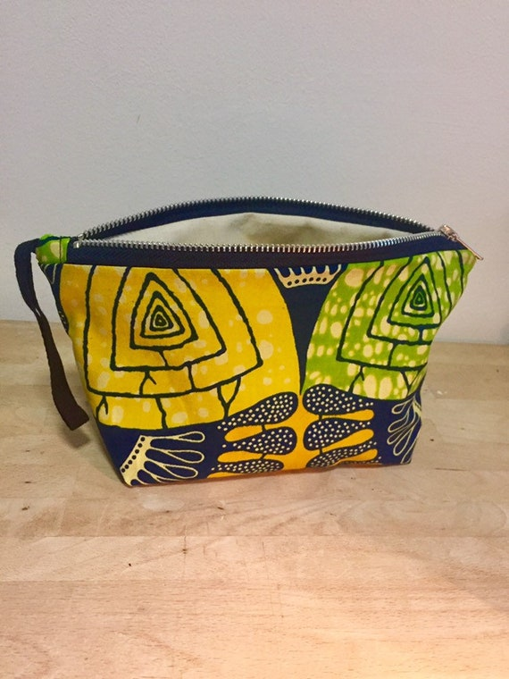 African Fabric make up bag,washbag, gifts, gifts for her, gifts for him, toiletries bag, bathroom