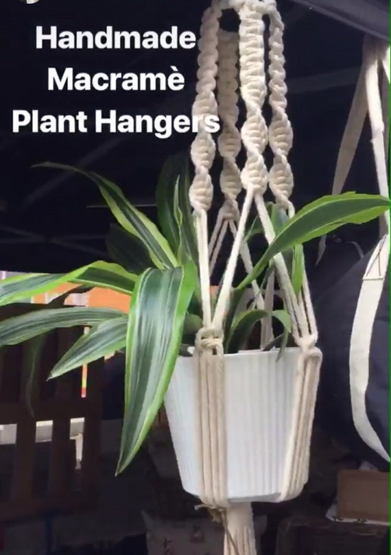 Macramé Plant Hanger, decoration, gift