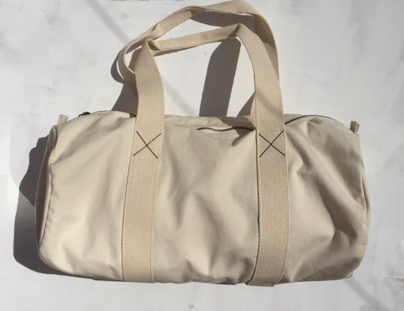 The Weekend Bag, weekendbag, gymbag, gifts, birthday, giftsforher, giftsforhim, 100%organiccotton, natural, barrellbag
