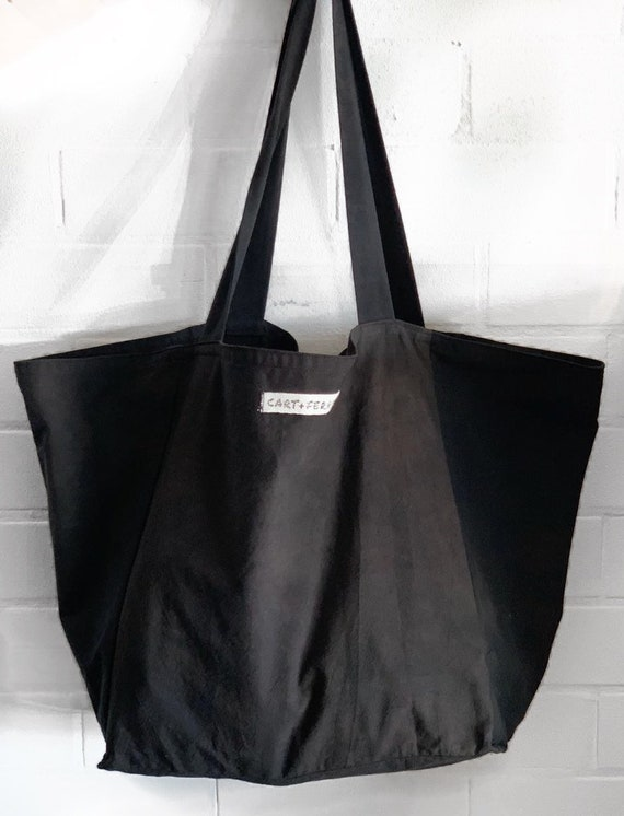 Handmade, Hand-Dyed Market Shopper, great christmas gift idea