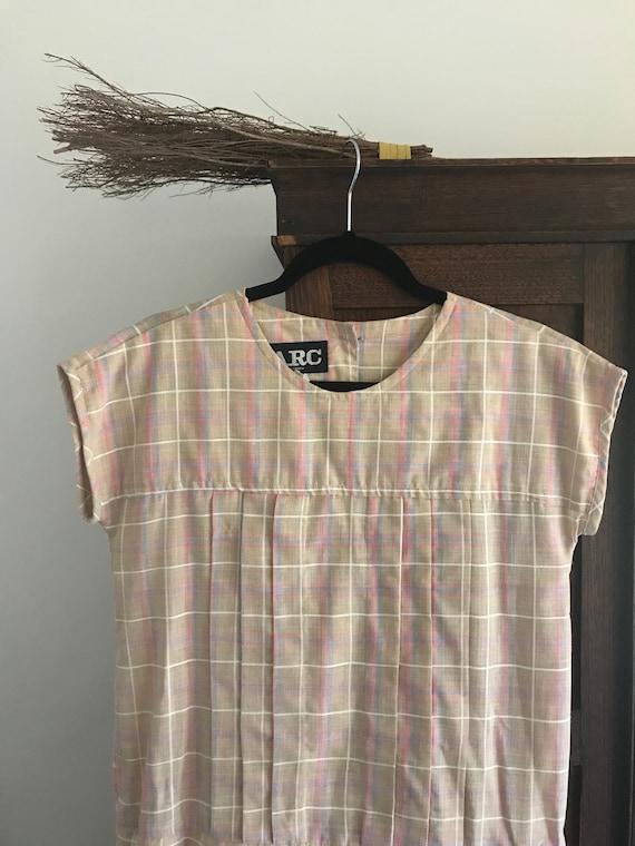 ARC 80s drop-waist dress