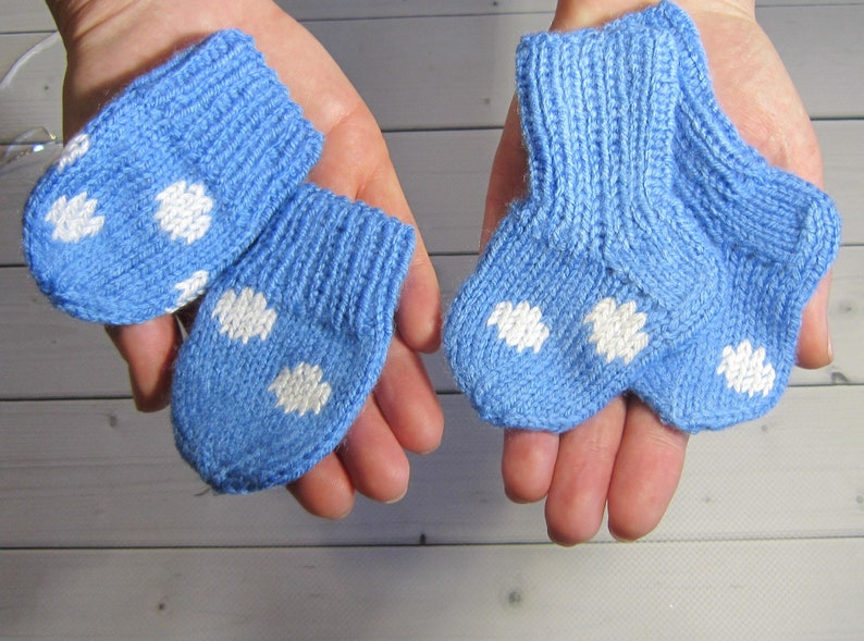 Baby knit socks and Baby mittens funny Baby shower gift Scratch Thumb less mittens Gift for kids Boy Girl Baby set cute Baby Girl Boy gift