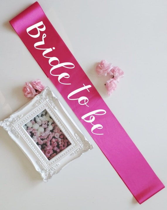 Bridal Sash Bridal Belt Bride To Be Sash Bachelorette Sash Hen Etsy