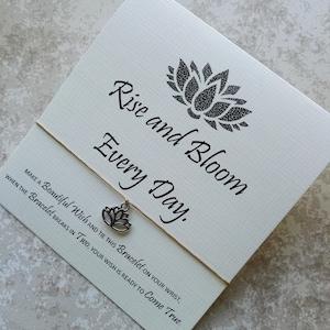 W6 Ohm Charm Yoga Gift Anklet Wax Cotton Cord Ohm Bracelet Wish Bracelet Ohm Jewellery Inspiration Gift Friendship Jewelry