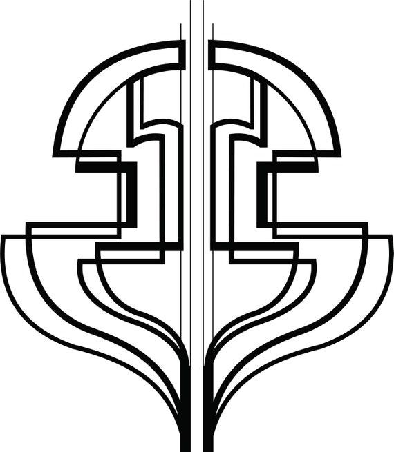 Geometric Line Art Tattoo Designs