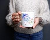 Jellyfish Mug Bone China Mug